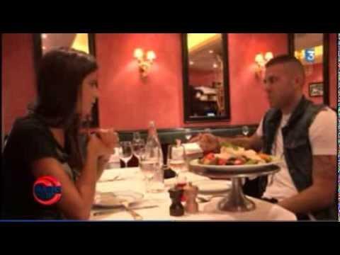 Jérémy Menez fait découvrir son restaurant préféré à Malika Ménard