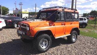 УАЗ 31514 с двигателем от Тойоты 1KZ-TE на автомате. Обзор (интерьер, экстерьер, двигатель).. MegaRetr