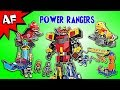Every Mighty Morphin POWER RANGERS Set Mega Construx Complete Collection