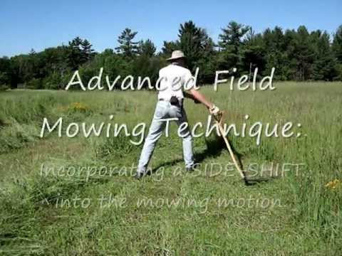 Scythe Workshop: How to Mow with a Scythe