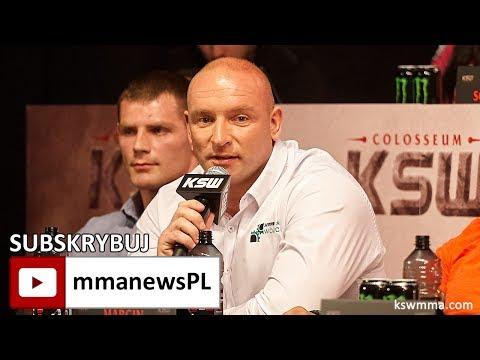 KSW 39: Tyberiusz Kowalczyk zostawi serce w starciu z Mariuszem Pudzianowskim (+video)