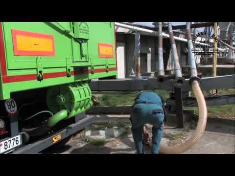 DUMET-ZNZ (VLH) - Takarmány ürítése a silóba