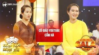 Thách thức danh hài 3 | tổng hợp 2 tiết mục của cô giáo YouTube Cẩm Hà