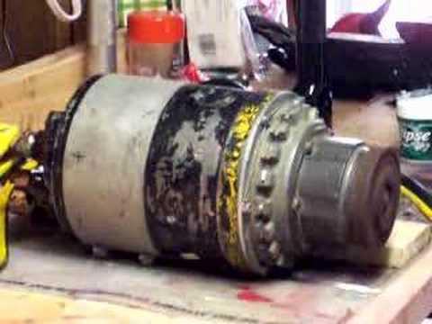 Jet Engine Starter Motor