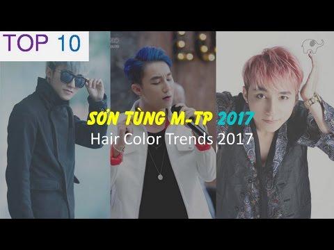 Kiểu tóc đẹp của Sơn Tùng M-TP Hair Color Trends for Men 2017