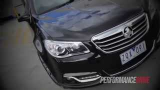 2014 Holden Calais V V6 0-100km/h and engine sound