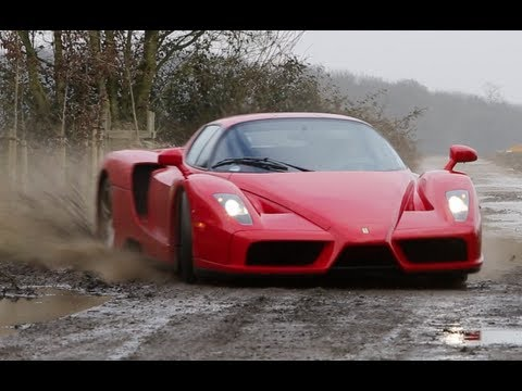 Ferrari Enzo en version cross