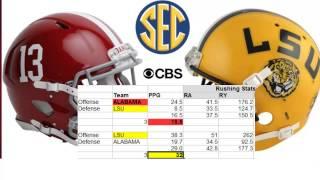 Alabama Vs LSU 2014 Game Predictions And Analysis