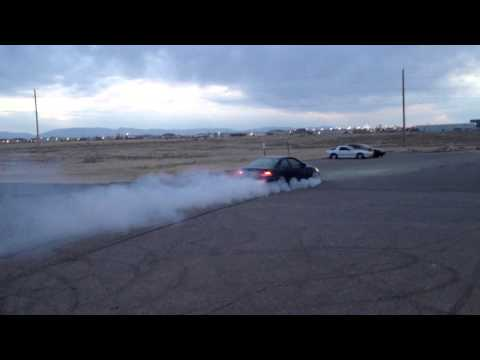 Civic burnout from hell!