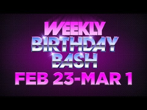 Celebrity Actor Birthdays - February 23 - March 1, 2014 HD