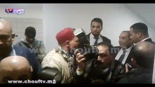 بالفيديو... حسبان جاب معاه الفيدورات إلى الجمع العام ديال الرجاء |