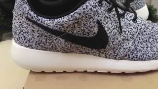 Nike Cement / Speckle / Oreo Roshe Run Review + On Feet