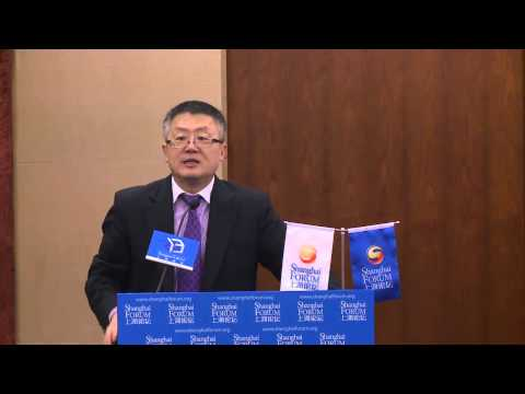 "[2013 Shanghai Forum] HUANG Jing ""Challenges and Opportunities for Asia in Times of Uncertainty"""