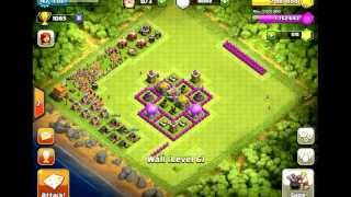 Clash Of Clan Town Hall 6 Farming Base