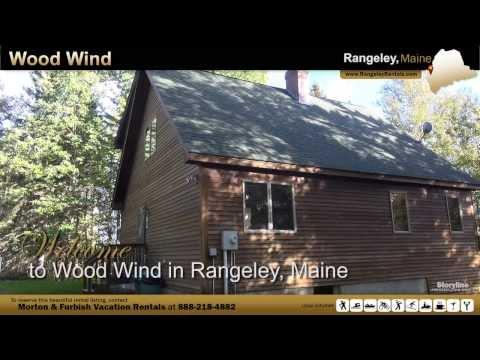 Vacation Rental in Rangeley, Maine - Wood Wind