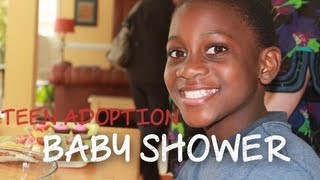 Baby Shower for Teenage Boy - Teen Adoption in Uganda