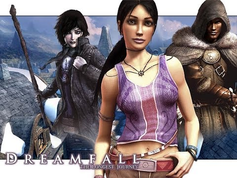 Dreamfall The Longest Journey прохождение 5 из 7 HD (XBox 1)