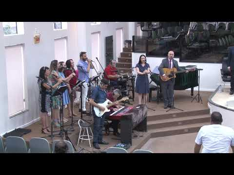 Ministério de Louvor Kadosh - Jesus é o centro - 14 01 2018