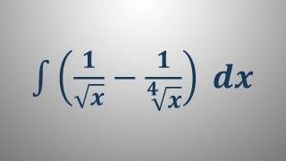 Nedoločeni integral 3
