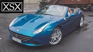 Sơn Tùng cầm lái Ferrari California T tăng tốc, dạo phố Sài Gòn