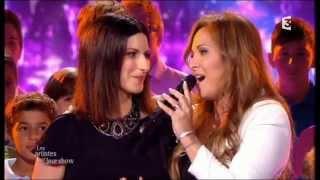LAURA PAUSINI & HELENE SEGARA FRANCE TV 2013 (Complete