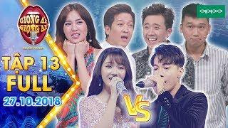 Giọng ải giọng ai 3 Tập 13 full: Ninh Dương Lan Ngọc đòi làm ca sĩ chính để song ca với thí sinh