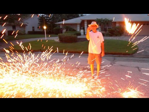 HOMEMADE FIREWORK FAIL! (7.4.13 - Day 1526)