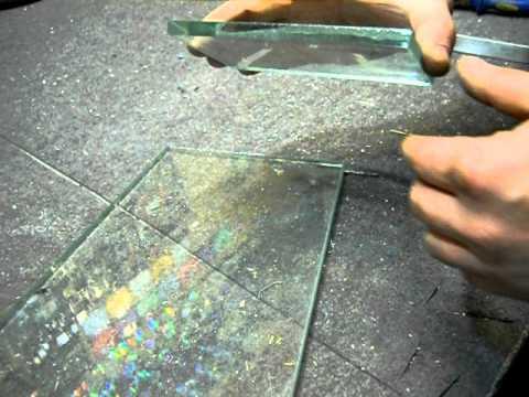 Чем разрезать толстое стекло в домашних условиях