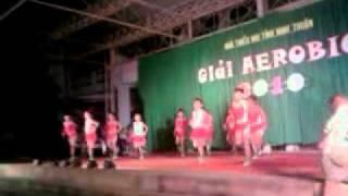 Nhảy EROBIC Tại Nhà Thiếu Nhi Tỉnh NInh THuận