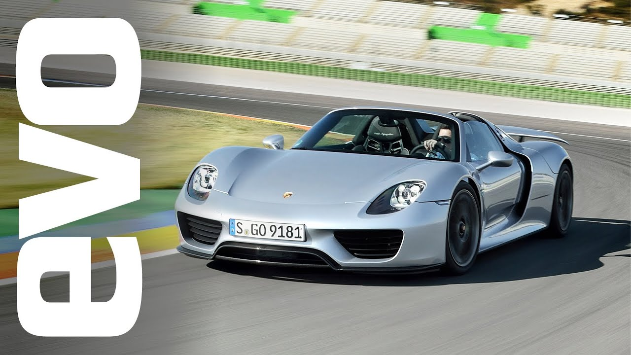 porsche 918 spyder first drive review evo diaries youtube. Black Bedroom Furniture Sets. Home Design Ideas