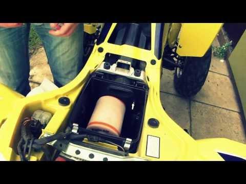 Filtr powietrza Twin Air : ATV air filter quad Suzuki LTZ 400 : Wymiana filtra powietrza TwinAir