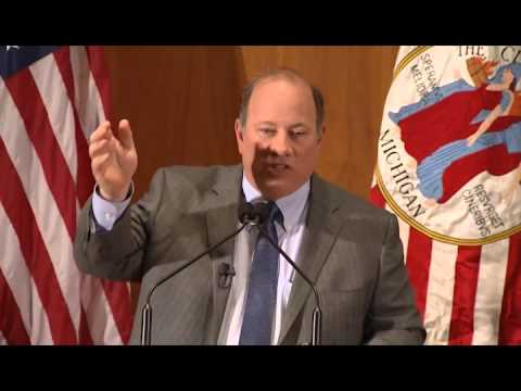 Detroit Mayor Mike Duggan State of The City Highlights: Improving Bus Service