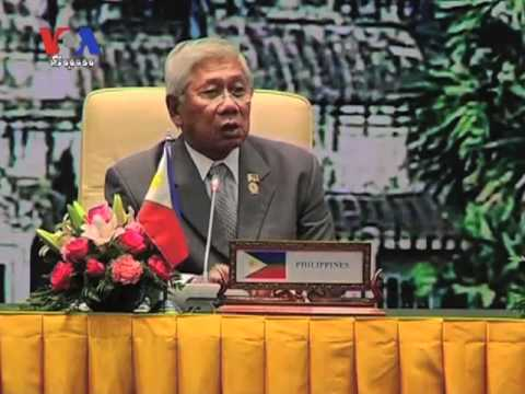 ASEAN Defense Ministers Seek to Resolve South China Sea Dispute (Cambodia news in Khmer)