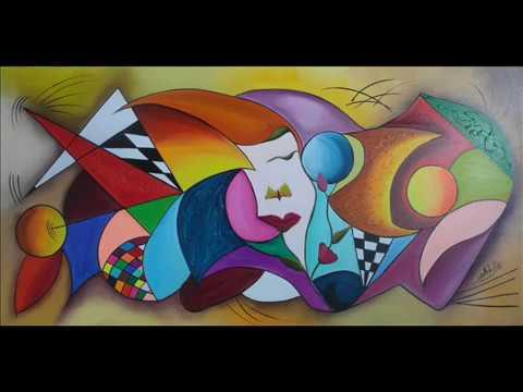 Cuadros pintados al oleo.wmv
