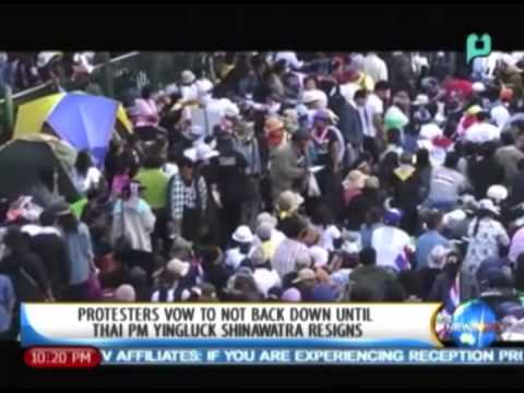 One Global Village: Protesters vow to not back down until Thai PM Yingluck Shinawatra resigns