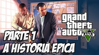GTA V O Início Da História ÉPICA