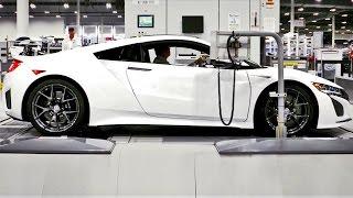 2017 Acura NSX Production. YouCar Car Reviews.