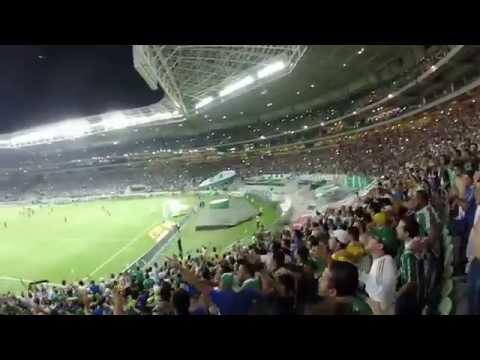 Hino do Palmeiras cantado pela torcida inauguração Allianz Parque - 19/11/14