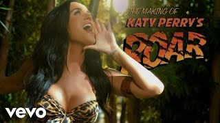 """Katy Perry Making Of The """"Roar"""" Music Video"""