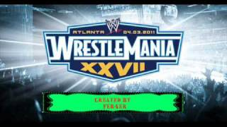 "WWE Wrestlemania 27 Official Theme Song ""Written In The"