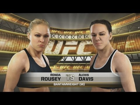 RONDA ROUSEY is a BEAST! Live Commentary (EA SPORTS UFC)