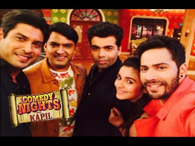 Humpty Sharma Ki Dulhania Alia & Varun On Comedy Nights With Kapil 12th July Full Episode HD