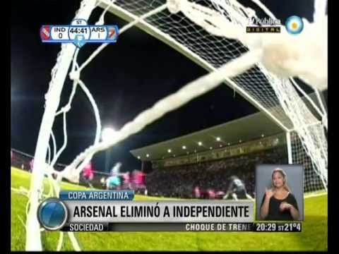 Arsenal 1 - Independiente 0