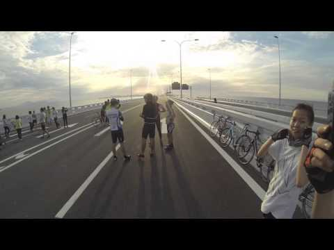 Fun ride to penang second bridge