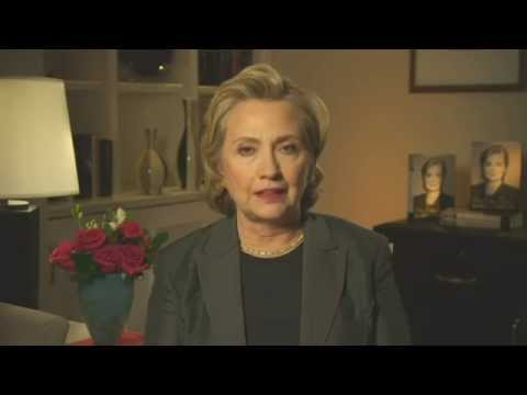 Hillary Clinton says Julia Gillard's 'misogyny speech' was striking