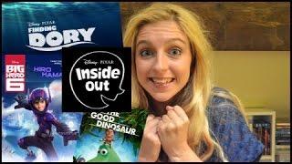 Upcoming Disney/Pixar Movies 2015/2016!