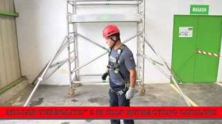 How to use a Miller TurboLite Fall Arrest Block