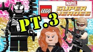 Lego Marvel Super Heroes Pt. 3 (Venom) Exploratory