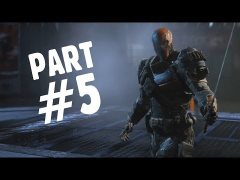 Batman: Arkham Origins Walkthrough Gameplay Part 5 - Deathstroke (Let's Play Playthrough), dsds