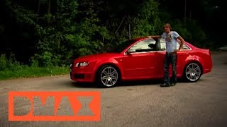 MTM Supercharged B7 Audi RS4 Clubsport! Launch, 8250 RPM, Crazy Insane sound! videos
